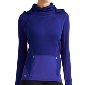 Athleta cowl neck kangaroo pocket pullover small